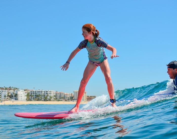 Surf Lessons at Costa Azul, San Jose del Cabo, Mexico