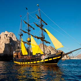 Pirate Ship Cruise in Los Cabos