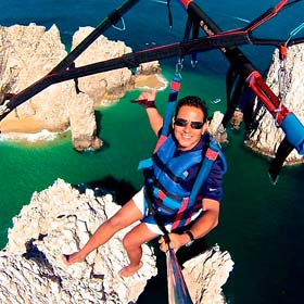Parsailing Tours in Los Cabos