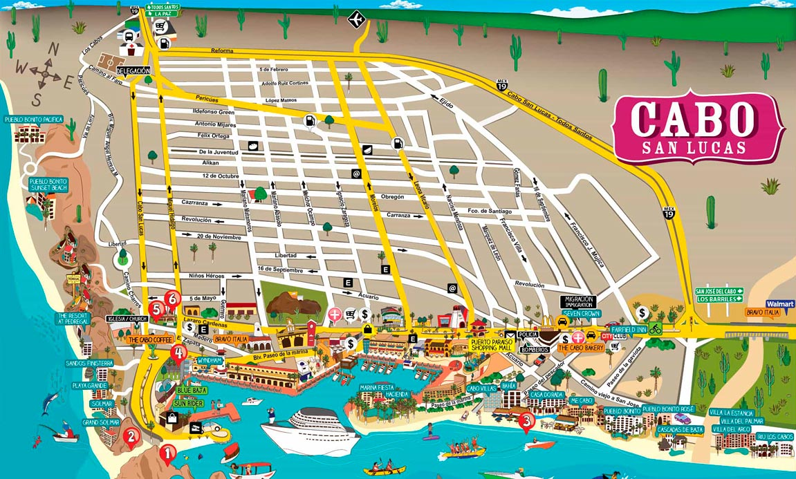 Cabo Maps
