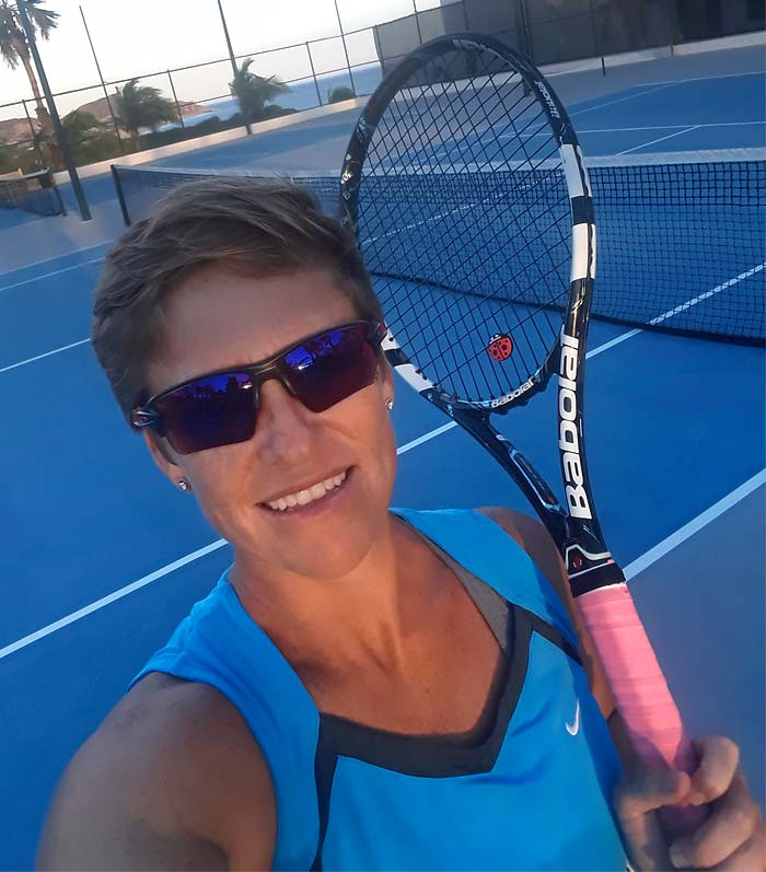 Natasha Stoop, Tennis Pro  - Tennis Lessons in Cabo San Lucas and Los Cabos