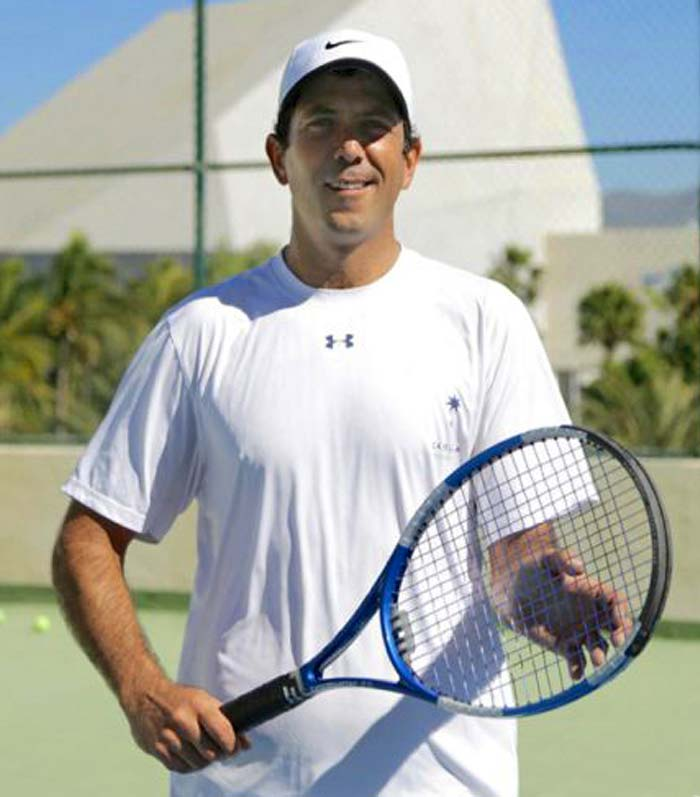 Pablo Martínez ,Tennis Pro  - Tennis Lessons in Cabo San Lucas and Los Cabos