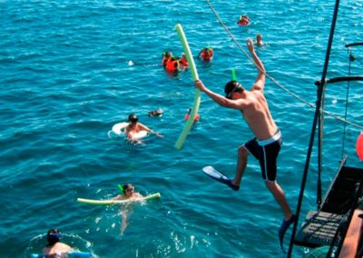 Snorkeling Tours Cabo San Lucas in a Pirate Ship Cruise