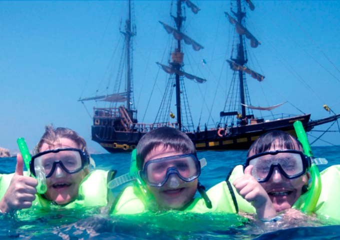 Pirate Ship Cruise - Snorkeling & Sunset Tours in Cabo San Lucas