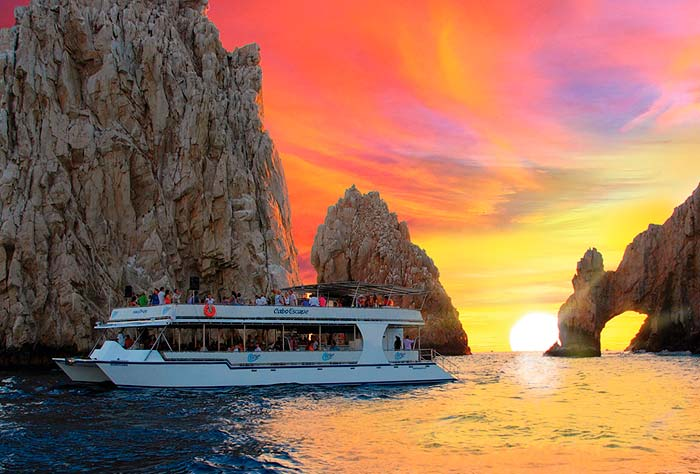 Sunset Cruise in a Double Deck Catamaran - Cabo San Lucas