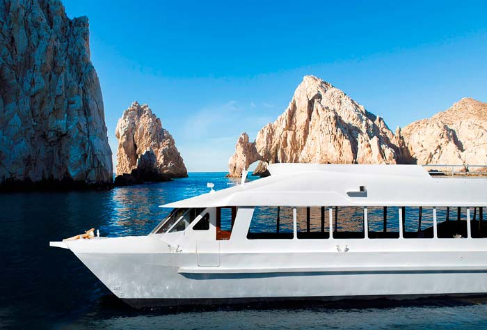 Premium Sunset Dinner Cruise in Cabo San Lucas, Baja, Mexico