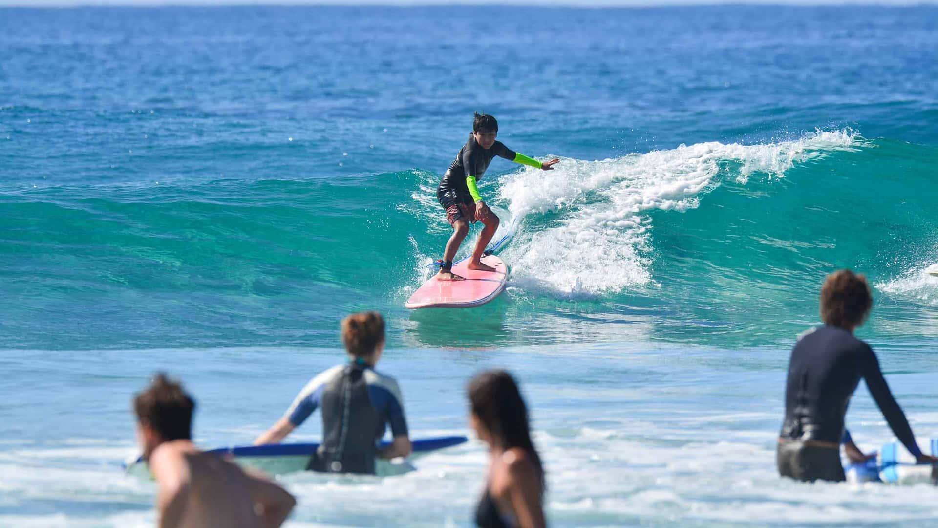 Surf Lessons at Cerritos, Los Cabos, Mexico