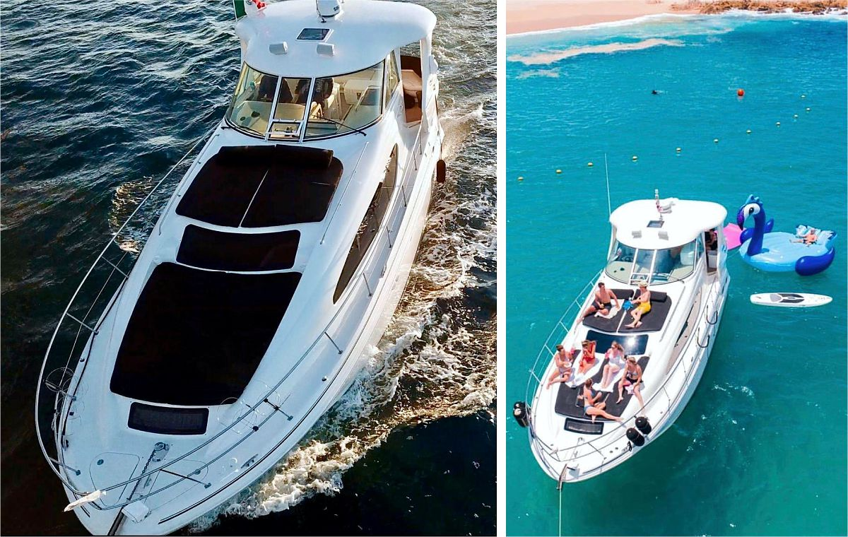 Private Yacht 45 ft